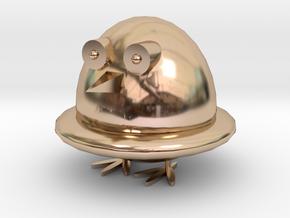 Q Penguin in 14k Rose Gold: Medium