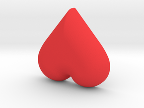 DIY Frebird Fridge Magnet - Mini Ghost (positive) in Red Processed Versatile Plastic