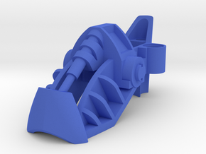 Custom Metru Foot in Blue Processed Versatile Plastic