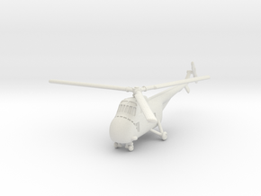Sikorsky H-19 Chickasaw (S-55) 1/200 in White Natural Versatile Plastic
