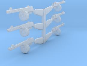 1/24 PPSh-41 machine gun in Smoothest Fine Detail Plastic