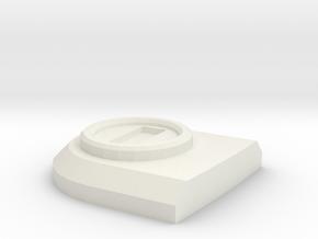 Lock rear door D90 D110 Team Raffee in White Natural Versatile Plastic