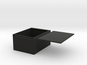headset box in Black Premium Versatile Plastic