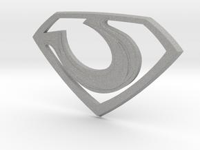 "Zod ""Man of Steel"" Emblem in Aluminum"
