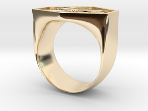 Air Force Ring in 14K Yellow Gold