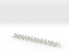 #125B - 22-80 TT Innenausbau in White Natural Versatile Plastic
