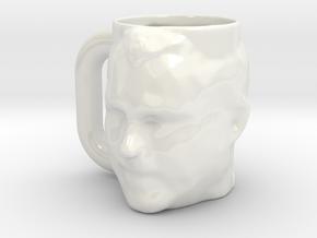 Action Jim Mug in Gloss White Porcelain