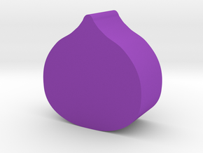 Fig Game Piece in Purple Processed Versatile Plastic