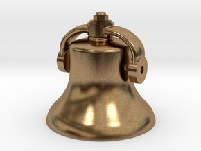 Bell in Natural Brass