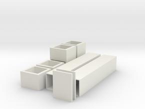 Choice chamber set in White Natural Versatile Plastic