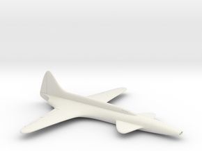 (1:144) Lockheed L-133  in White Natural Versatile Plastic