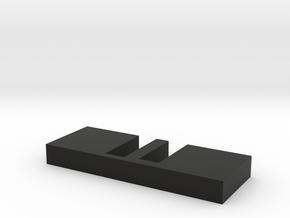 Frame chopsticks in Black Natural Versatile Plastic: Small