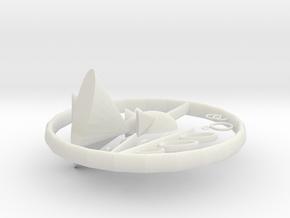 Swim in White Natural Versatile Plastic