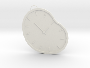 time necklace in White Natural Versatile Plastic
