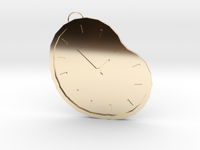 time necklace in 14K Yellow Gold