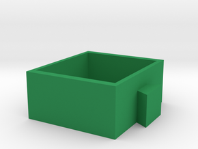 pen holder-3 in Green Processed Versatile Plastic