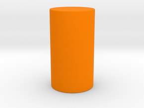 table storage-1 in Orange Processed Versatile Plastic