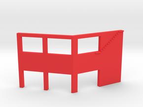 Dualidades Pendant (Frida) in Red Processed Versatile Plastic