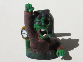 Jeff the Zombie in Full Color Sandstone
