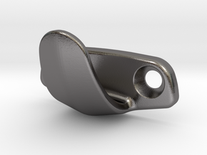 VW Karmann Ghia Type 34 B pillar hook  in Polished Nickel Steel