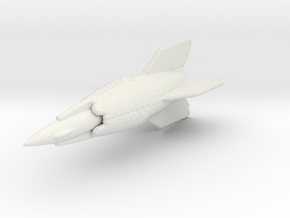 1:700 Amerika Rocket  (A10 and A9) in White Natural Versatile Plastic
