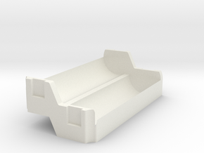 Modmaker Fatboy sled in White Natural Versatile Plastic