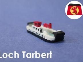 Loch Class Ferries (1:1200) in Smooth Fine Detail Plastic