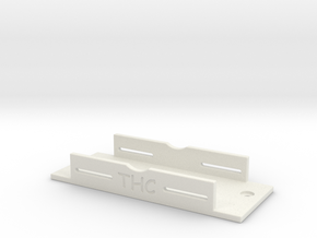 HPI VENTURE SIDE MOUNT BATTERY TRAY in White Strong & Flexible