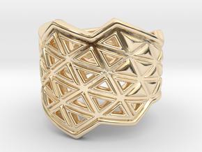 Phylloframe Ring 1 in 14K Yellow Gold