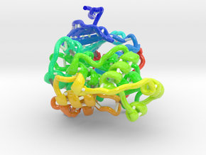 Map Kinase Erk2 in Glossy Full Color Sandstone