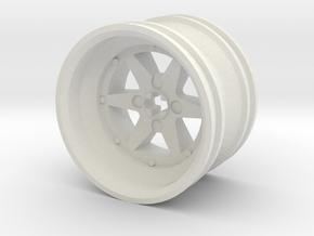 Wheel Design XIII in White Strong & Flexible