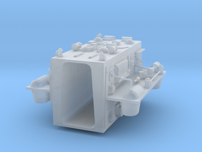"""Rear insert for 12"""" Eagle Kit! in Smooth Fine Detail Plastic"""
