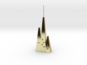 city animal in 18k Gold