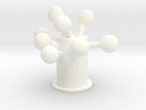tree in White Processed Versatile Plastic