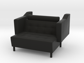 Sofa 2018  model 1 in Black Natural Versatile Plastic