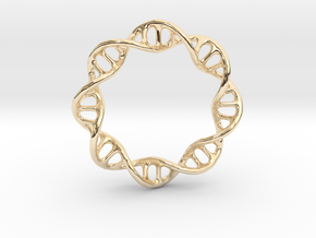DNA Ring 1 in 14K Yellow Gold
