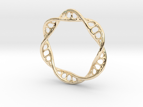DNA Ring 2 in 14K Yellow Gold