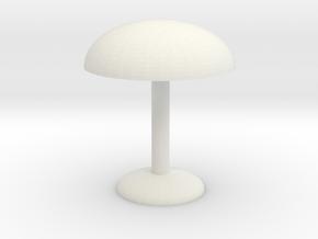 Electric light in White Natural Versatile Plastic: Medium
