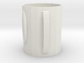 106102240杯子 in White Natural Versatile Plastic