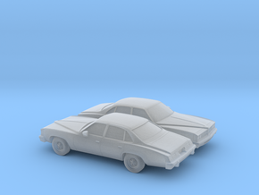 1/220 1976 Pontiac Grand LeMans Sedan in Frosted Ultra Detail