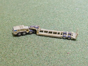 MAZ 537 Tank Transporter 1/200  in Smooth Fine Detail Plastic