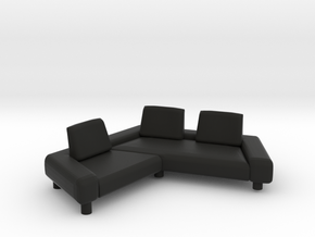 Sofa 2018 model 7 in Black Natural Versatile Plastic