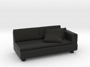 Sofa 2018 model 11 in Black Natural Versatile Plastic