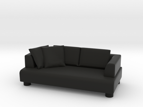 Sofa 2018 model 12 in Black Natural Versatile Plastic