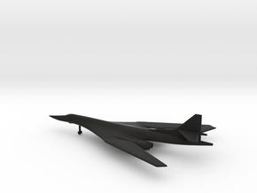 Tupolev Tu-160 Blackjack in Black Natural Versatile Plastic: 1:500