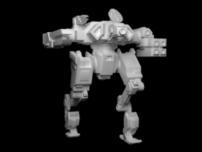 "Mk3 FX43-02 ""Stalker"" Automated Battlesuit in Smooth Fine Detail Plastic"