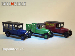 SET 3x Renault OS (N 1:160) in Smooth Fine Detail Plastic