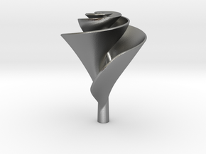 Clockwise Lily Shape Impeller in Natural Silver