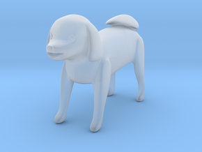 Standing dog 1 in Smoothest Fine Detail Plastic