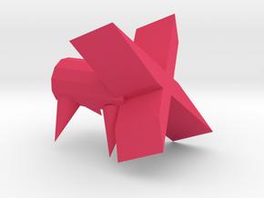 手機架.stl in Pink Processed Versatile Plastic